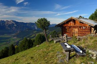 """Photo: 17 """"Einsame Hütte über dem Zillertal"""""""