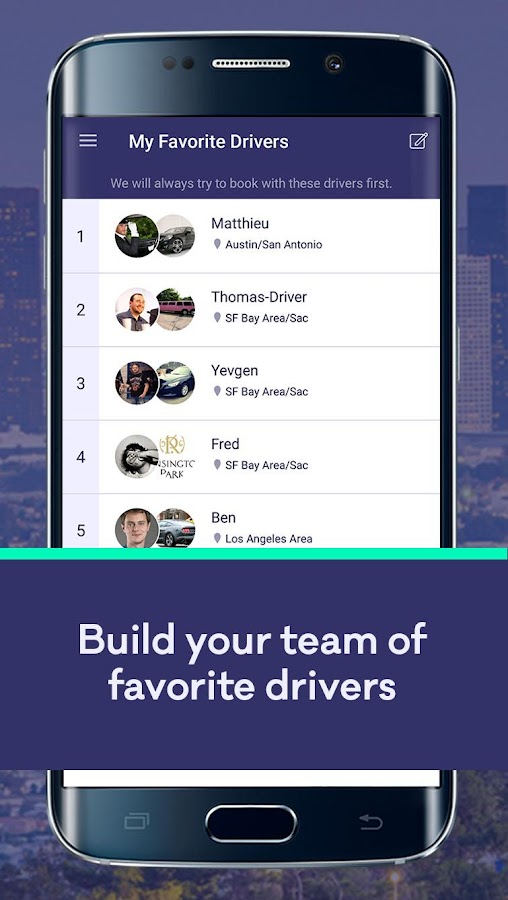 Wingz - Your Trusted Driver- screenshot