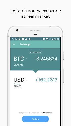 WIREX: Bitcoin Ethereum Litecoin XRP Wallet 2.7.0 screenshots 3