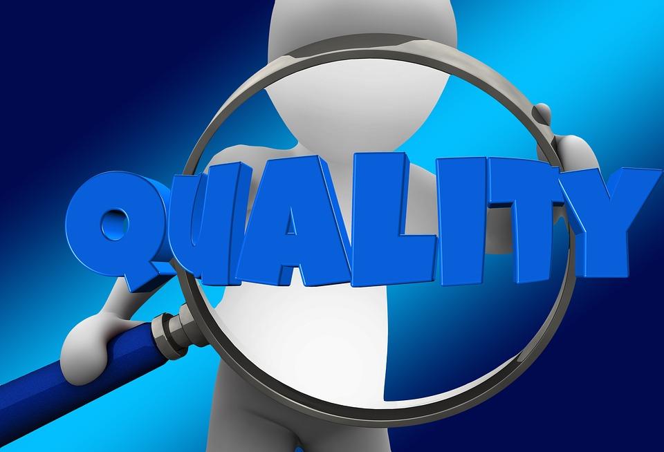 品質コントロール, 品質, 虫眼鏡, コントロール, コントロール要素, 認定, チェック, 検査, レビュー