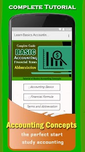 Learn Basics Accounting Concepts and Terms - Android Apps on ...