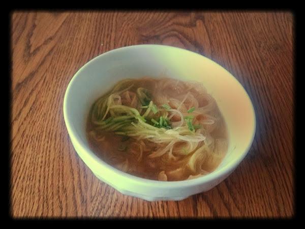 Lemongrass Chicken Soup With Cucumber Recipe