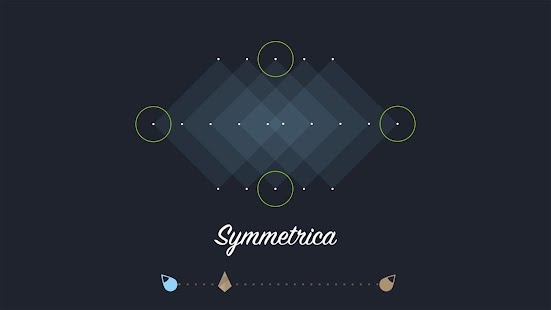 Symmetrica - Minimalistic game- screenshot thumbnail