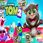 New My Talking Tom 2 Lock Screen HD Wallpapers