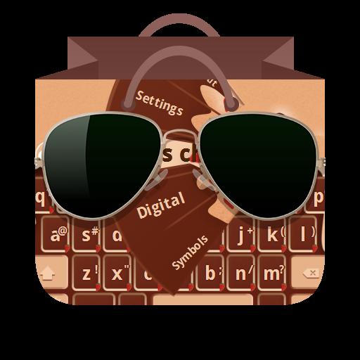 漿果巧克力 GO Keyboard 個人化 App LOGO-APP試玩