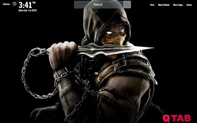 Mortal Kombat X New Tab Wallpapers