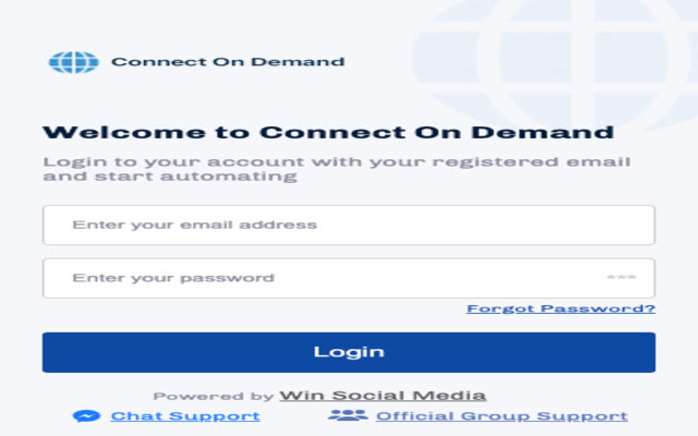 Connect On Demand