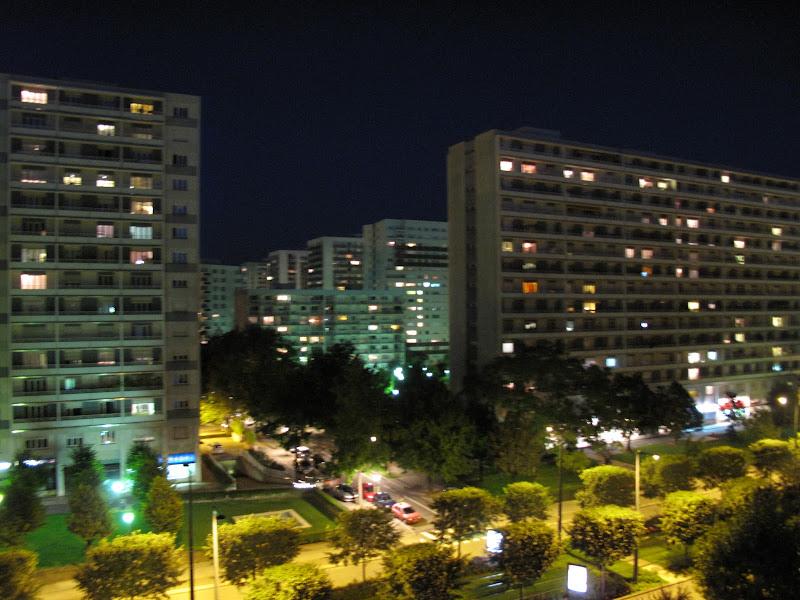 Photo: L'esplanade by night / Strasbourg