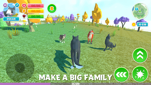 ud83dudc3a Wolf Simulator: Wild Animals 3D Family Game 1.9 screenshots 3