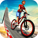 Impossible Kids Bicycle Rider - Hill Tracks Racing icon