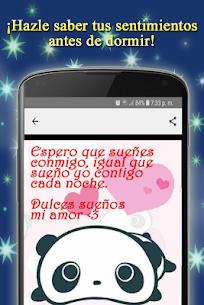 Frases Bonitas con Imágenes de Buenas Noches Amor 5