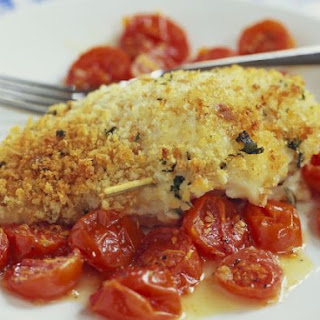 Crispy Chicken with Tomatoes