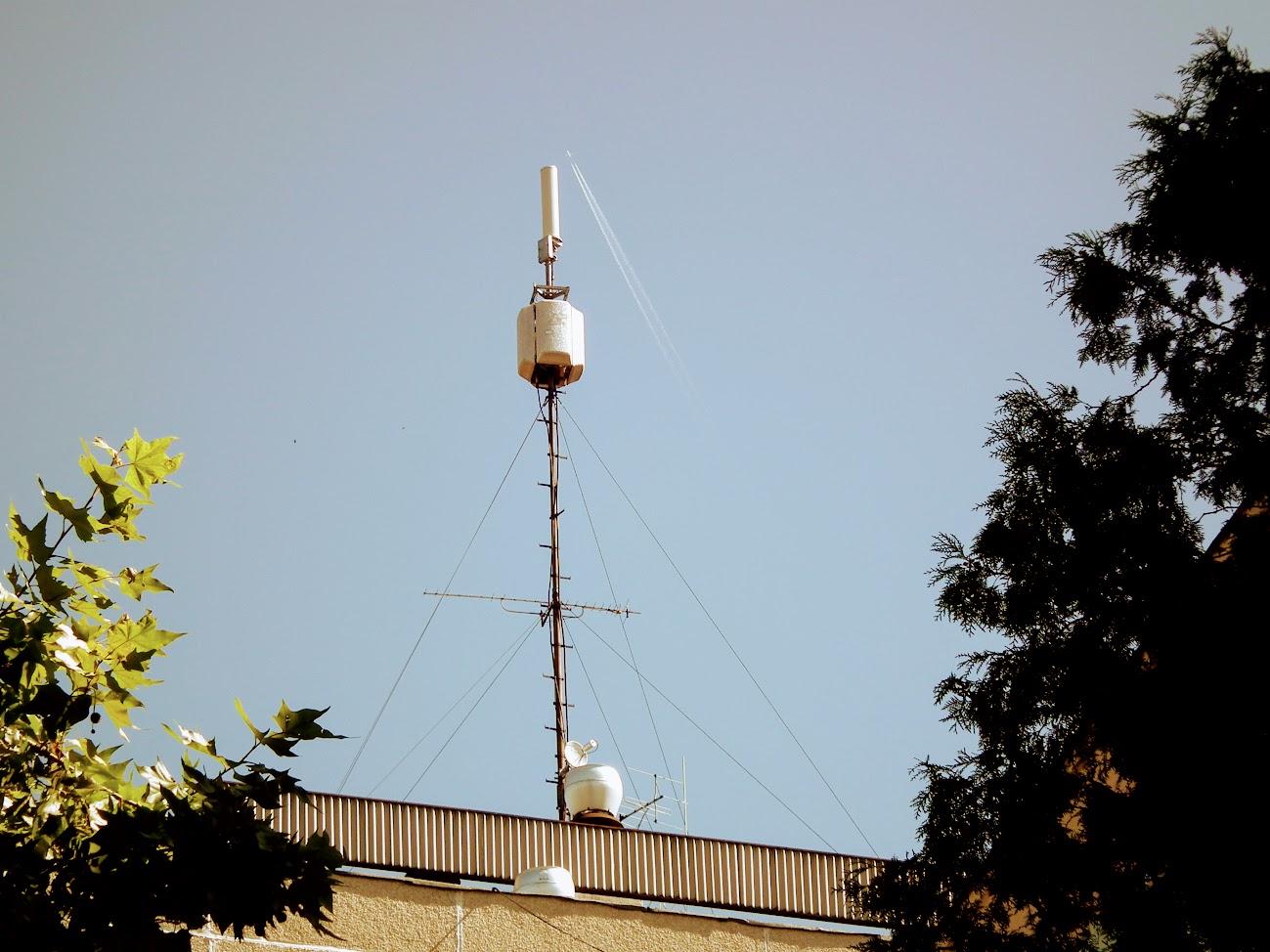 Cegléd/toronyház - helyi DVB-T adóállomás