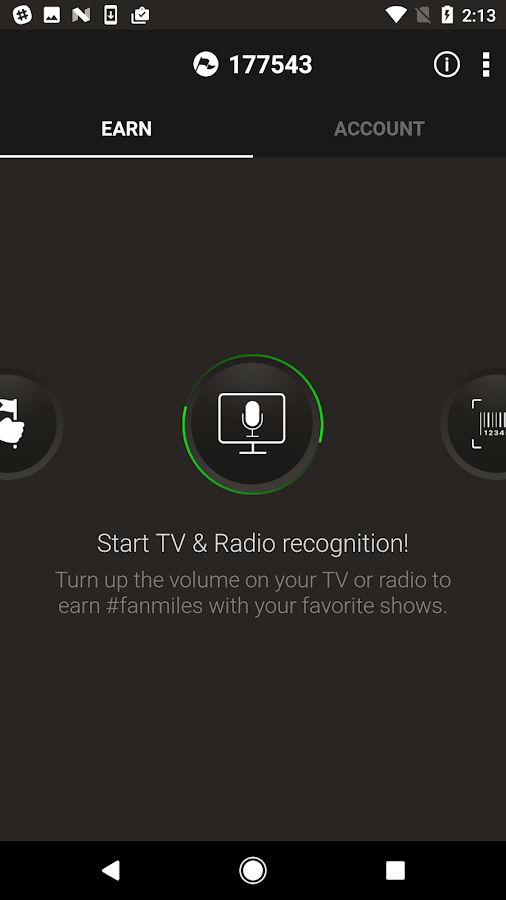 Fanmiles - TV & Radio- screenshot