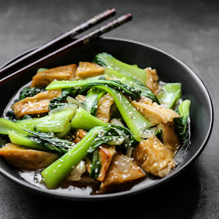 Stir Fry Tofu With Oyster Sauce Recipes.