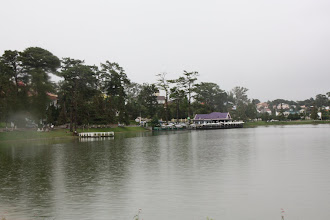 Photo: Year 2  Day 16  -  Xuan Huong Lake and Restaurant