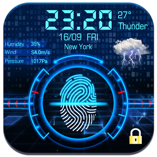 Smart Fingerprint Lock Screen