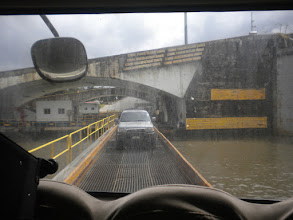 Photo: Crossing the Panama Canal