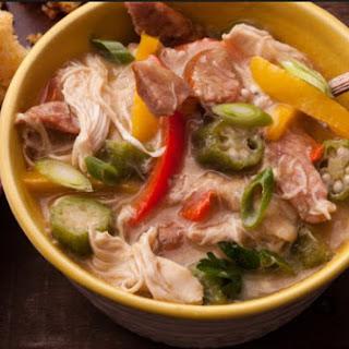 Weight Watchers Big Easy Chicken and Okra Gumbo