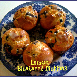 Lemon Blueberry Muffins!.