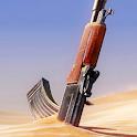 Gun in Sand Live Wallpaper icon