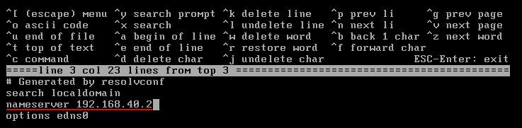 Configure address resolution in FreeBSD - nameservers [Method 2]. Source: nudesystems.com