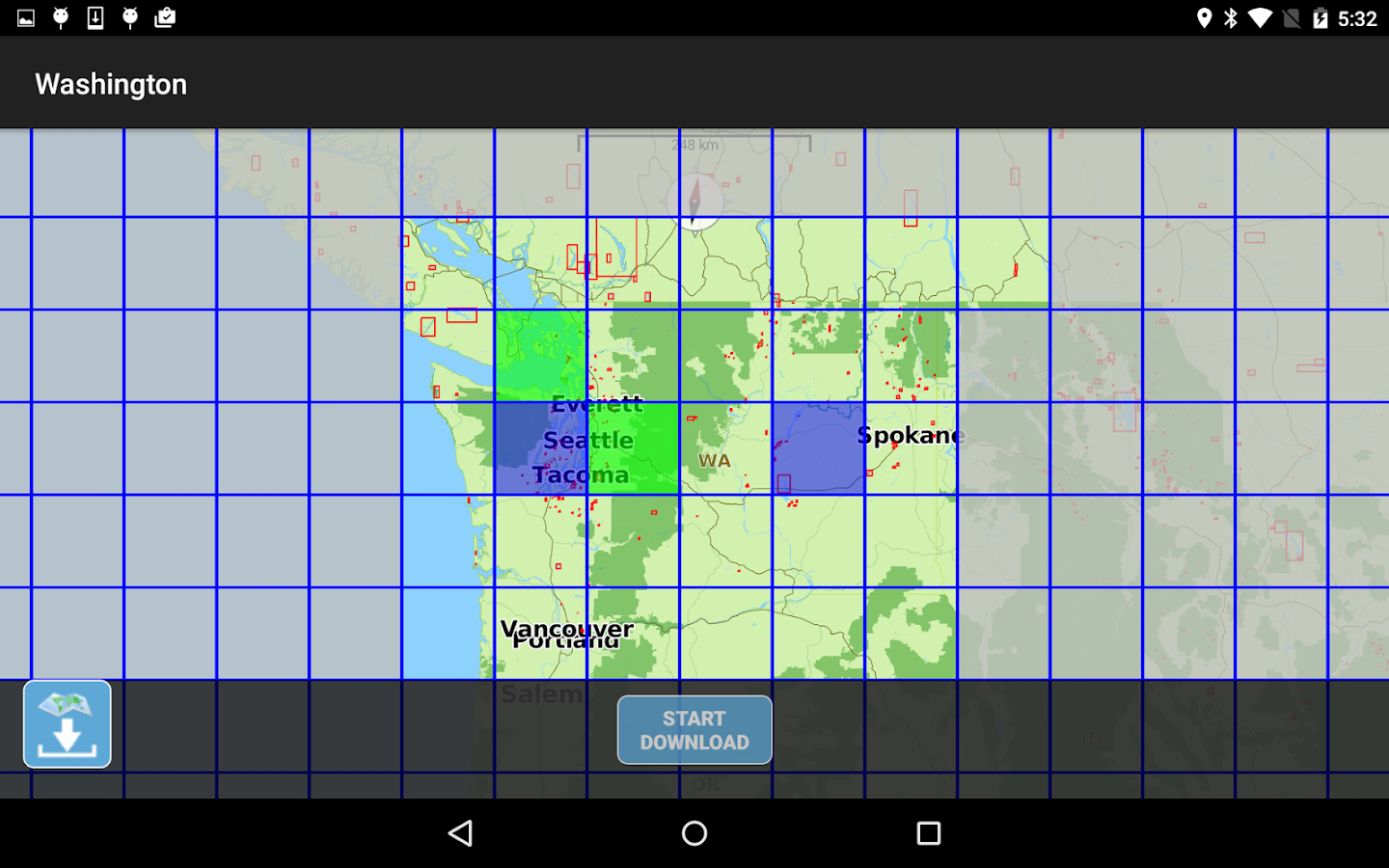 Aqua Map Washington Lakes GPS- screenshot