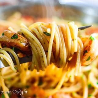 Easy Shrimp Scampi Spaghetti Recipe