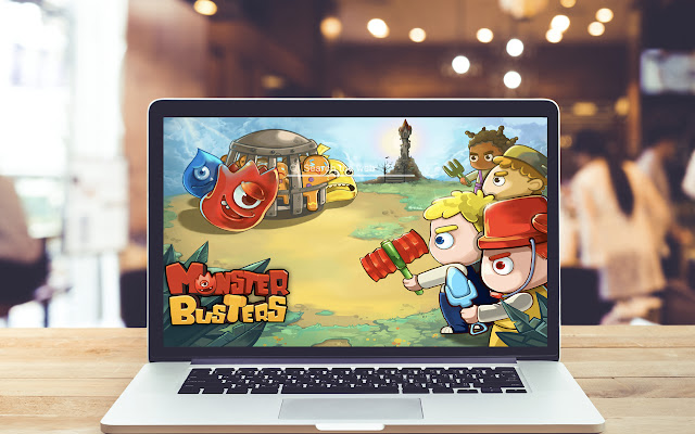 Monster Busters HD Wallpapers Game Theme