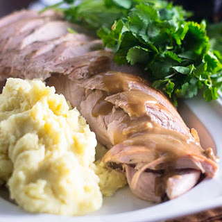 Roast Turkey with Stout Gravy