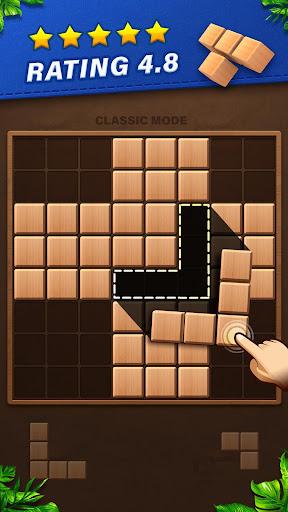 Fill Wooden Block 8x8: Wood Block Puzzle Classic  screenshots 1