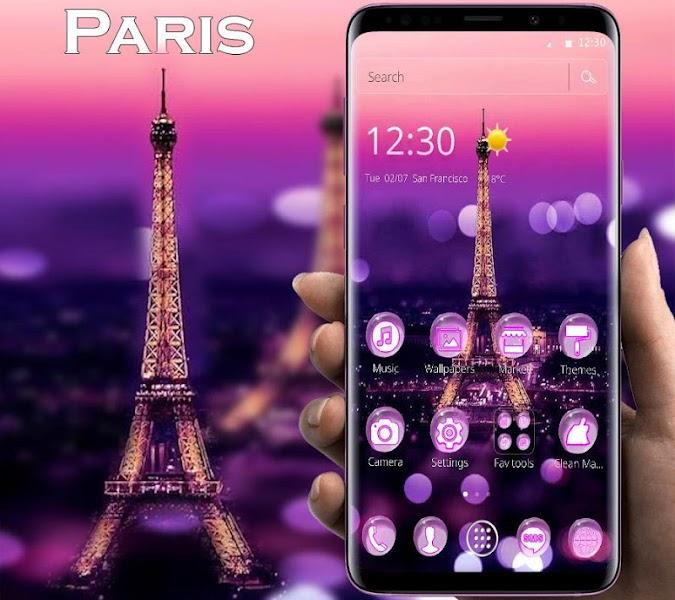 Eiffel Tower theme 2020