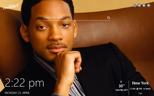 Will Smith HD Wallpapers Social New Tab Theme