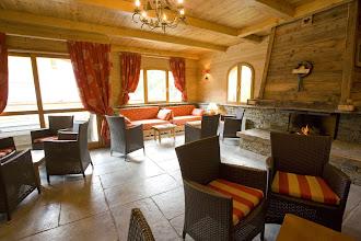 Photo: Salon détente de la résidence