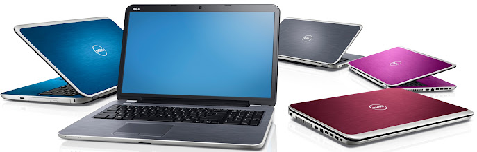Photo: New Inspiron 17R family shown in all colors. More details here: http://bit.ly/inspironrces2013
