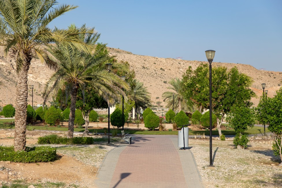 Hawiyat Najm Park, Oman