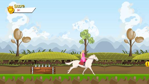 公主騎白馬