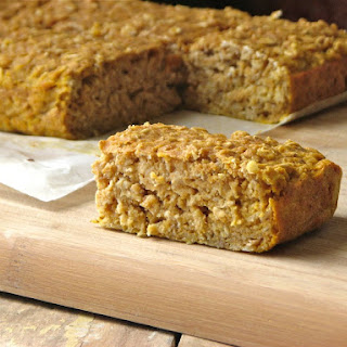 Banana Oat Breakfast Bars.