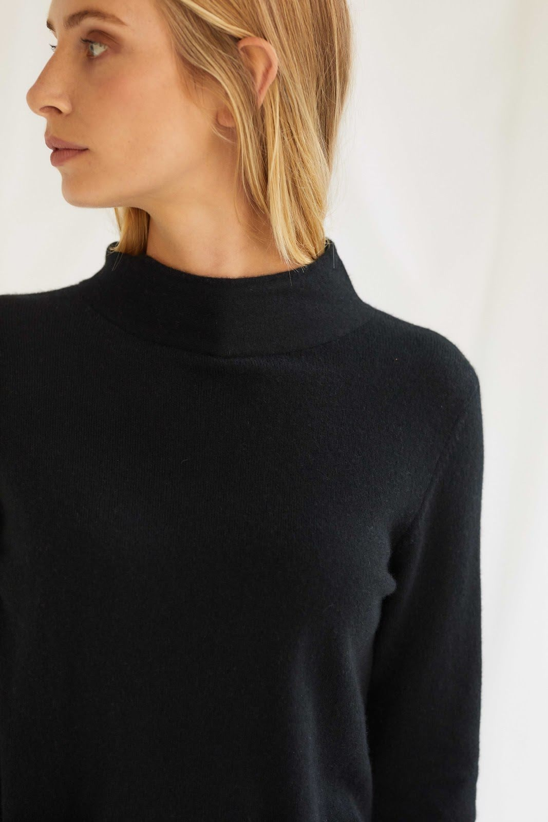 Half Polo Sweater
