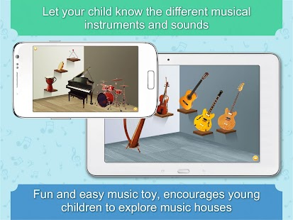 Kids music toy tunes♥rhymes♥- screenshot thumbnail