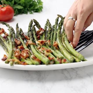 Bacon & Garlic Asparagus.