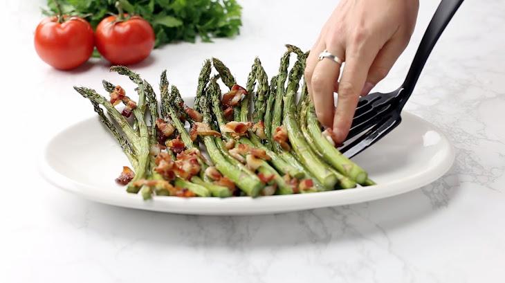 Bacon & Garlic Asparagus