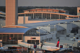 Photo: The McNamara Terminal, home to Delta's second-largest hub and primary transpacific gateway, also features a 414 room Westin Hotel directly attached to the Terminal's Concourse A.  CREDIT: Wayne County Airport Authority/Vito Palmisano.