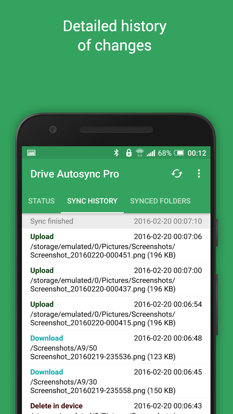 Autosync Google Drive Screenshot 6