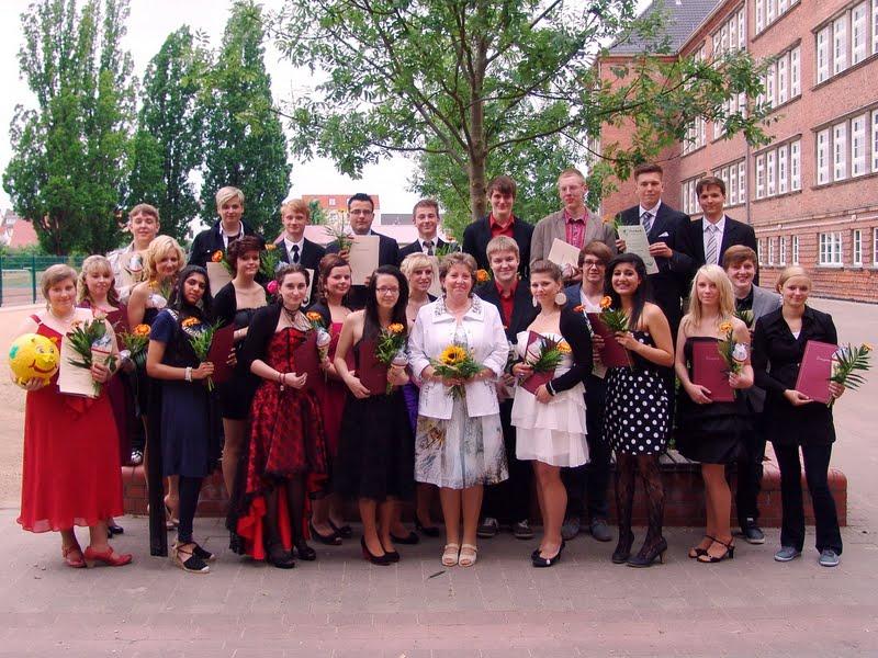 Foto: Abschlussklasse 10 2012