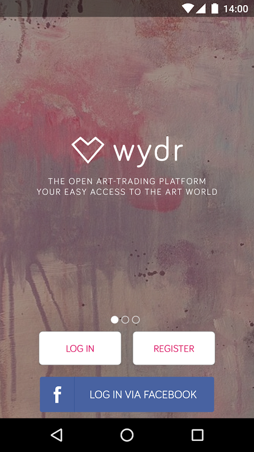 wydr: art & original paintings- screenshot