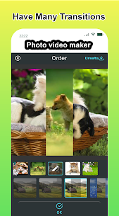Photo video maker with music, effects for pictures 5