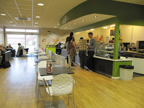 Photo: Elgar Cafe, Student Union, St. John's Campus, University of Worcester