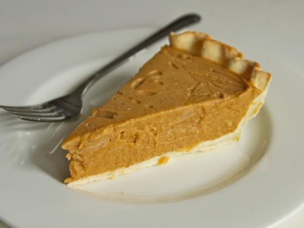 Dairy-Free, Egg-Free Coconut-Pumpkin Pie