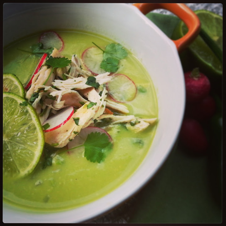Chicken & Avocado Soup Recipe | Yummly